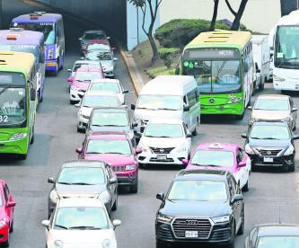 Restricción vehicular Hoy No Circula CDMX Contingencia ambiental