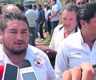 taxistas sin verificación se manifestaron