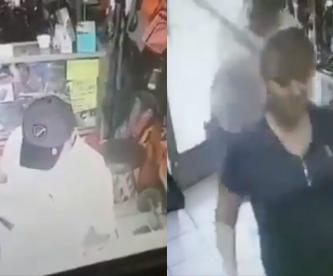 Hombre golpea con un bate a una mujer y se lleva sus pertenencias en Sonora