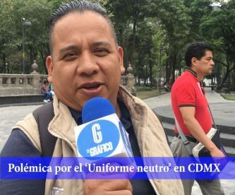 Mexicanos reaccionan a propuesta de Uniforme neutro niños con falda CDMX