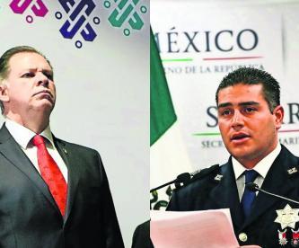 Claudia Sheinbaum Jefe General de Policía SSC Omar Hamid García Harfuch CDMX