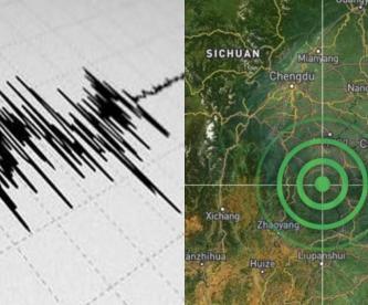 sismo terremoto temblor china muertos víctimas