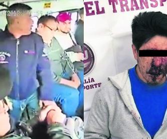 Robo transporte público Condenan a asaltante Edomex