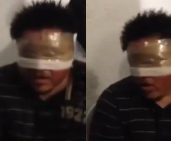 Difunden video de tortura a detenido por el caso de Ayotzinapa