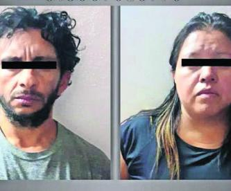 Atrapan pareja asesinó sobrino