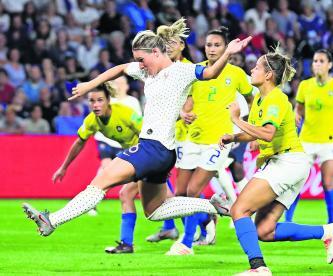 Francia vence Brasil 2-1 Mundial Femenil
