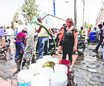 Cortan servicio agua Tláhuac Iztapalapa Coyoacán