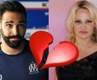 pamela anderson rompe relación adil rami francés infidelidad doble vida instagram futbolista infiel traición