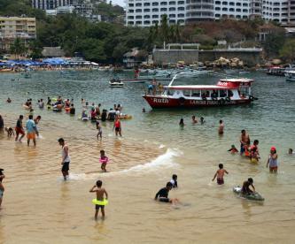 alerta contaminación turistas playas sucias cofepris advertencia vacaciones guerrero