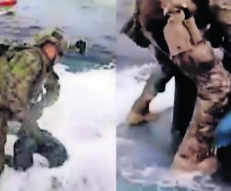 Persecución en el mar Guardia Costera de EU incauta narcosubmarino