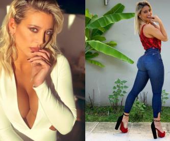 Chica del clima argentina aparece en bikini extremo y le llueven comentarios picantes
