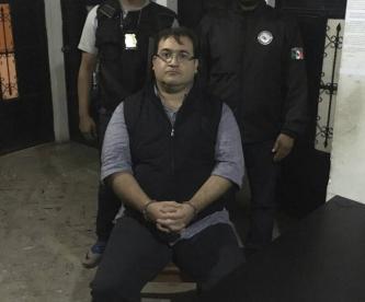 Revelan video donde Javier Duarte explica montaje de su captura