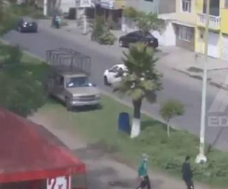 Circula video del asalto a puesto de carnitas en Ecatepec que fulminó la vida de un ladrón