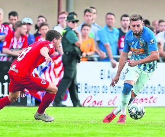Héctor Herrera lució entre los nuevos del Atlético de Madrid, que doblegó al Numancia