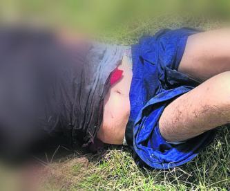 secuestrado le dan levantón hombre mientras dormía en su casa lo torturan lo encuentran muerto sin vida huellas de tortura baldío