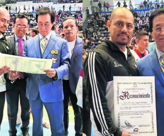 Fernando Salgadeo Taekwondo entrenador morelense gimnasio Miguel Hidalgo Puebla