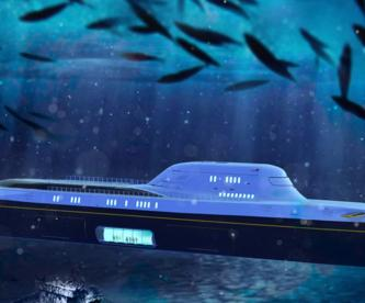 crean yate lujoso se vuelve submarino austria