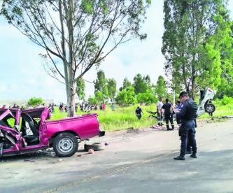 Carretera Yecapixtla-Ocuituco accidente vial