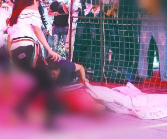 matan hombre tianguis iztapalapa balean vendedora cdmx