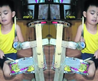 niño conmueve internet internautas tocar batería reciclada manila filipinas video