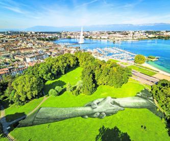cadena humana más grande mundo Suiza