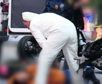 dos hombres mueren acribillados balazos verdugos corretiza huían moto se descompuso les dan alcance asesinan ramos millán