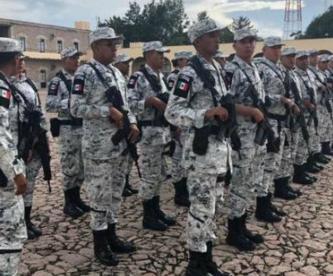 Francisco Domínguez Servién Guardia Nacional Querétaro