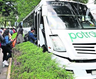 UAEM PotroBús transporte ecológico