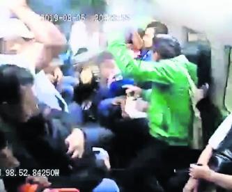 asaltantes combi Chalco detenidos