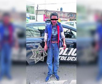 Ladrón de autopartes Toluca