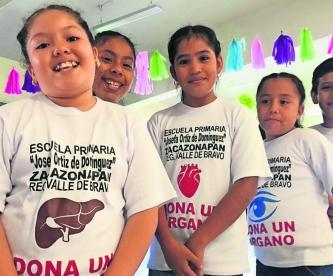 promueven la donación de órganos en edomex
