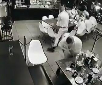 video ataque mortal bar Uruapan Michoacán