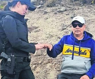 rescatan hombre nevado de toluca presion alta mareos