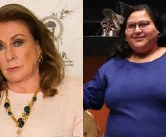laura zapata callate gorda traicionera ataca senadora morena apoyo evo morales twitter