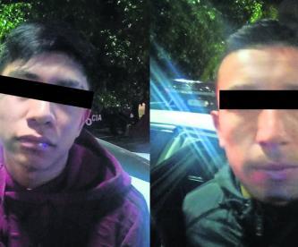 Presuntos motosicarios CDMX narcomenudistas
