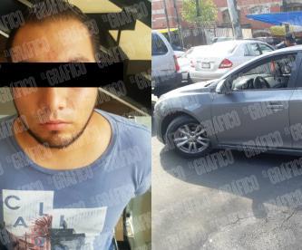 secuestran hombre pide auxilio ciudad de mexico cuauhtemoc detenido
