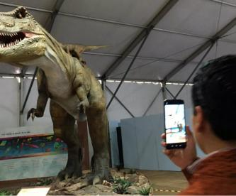 dinosaurios explanada toluca