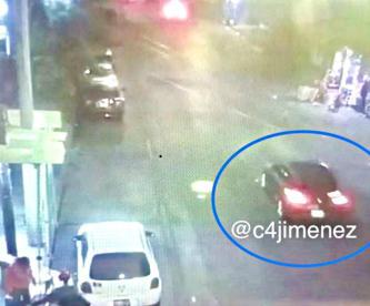 Revelan video del vehículo de concursante de Enamorándonos, antes de ser acribillado en CDMX