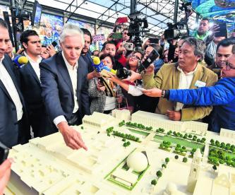 Festejarán 500 años de Toluca con la transformación de su centro histórico