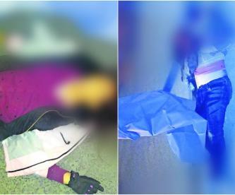 mujeres policías mueren atropelladas