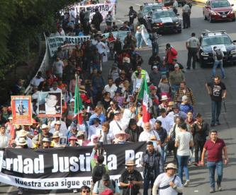 caminata justicia paz julián lebarón morelos cdmx