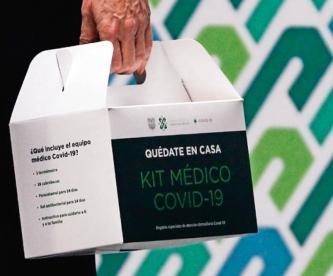 Gobierno de la CDMX repartirá kit médico para detectar y atender Covid-19