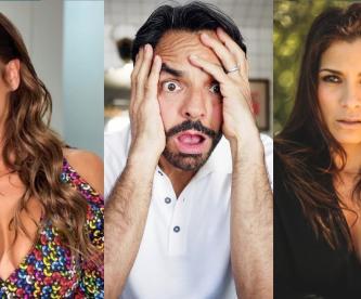 Consuelo Duval le hace escena de celos a Eugenio Derbez frente a Alessandra Rosaldo