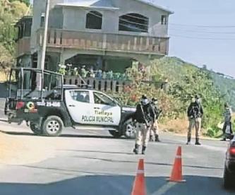 Para evitar contagios de Covid-19, blindan dos municipios, en Estado de México