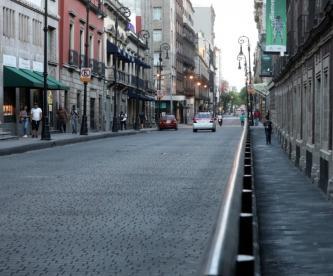 La Ciudad de México mutó con el Covid-19