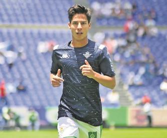 El Betis ofreció a Diego Lainez al Galatasaray, pero el club turco lo rechazó