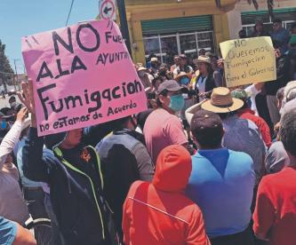 Jefe Otomí pide información clara sobre campañas de sanitización vs Covid-19, en Toluca