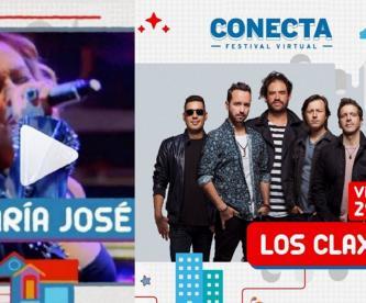 Ocesa arma el Festival Conecta totalmente en streaming, estará María José y Los Claxons