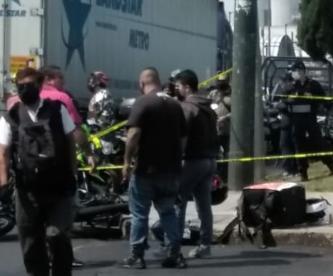 Repartidor en motocicleta muere arrollado por un vehículo, en la Agrícola Oriental