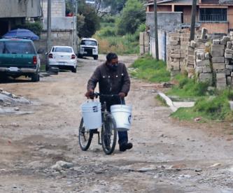 Habitantes de Lerma llevan 20 días sin agua, autoridades les piden que vayan al pozo